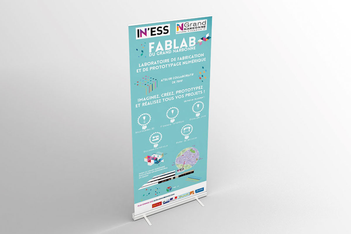 Roll-up Fablab